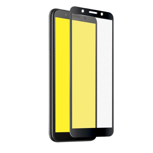 Tvrdené sklo SBS Full Cover pre Huawei Y5 2018 a Honor 7S, black TESCREENFCHUY518K