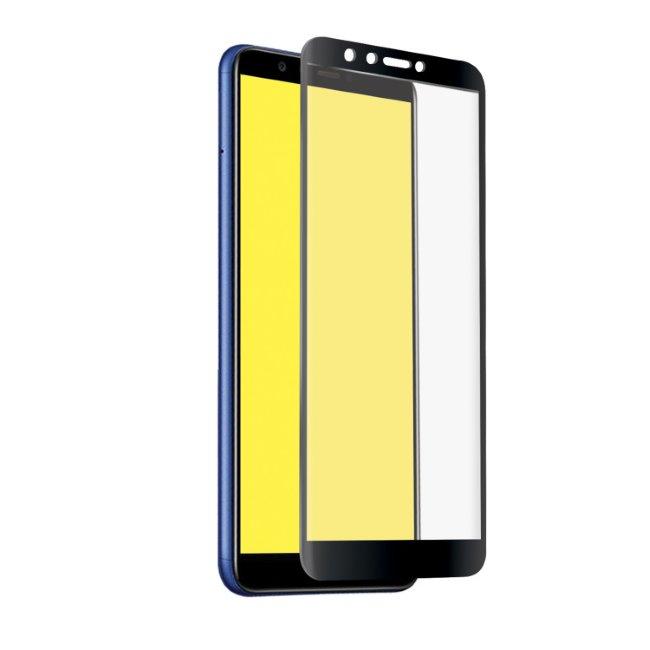 Tvrdené sklo SBS Full Cover pre Huawei Y6 2018/Y6 Prime 2018/Honor 7A/Honor 7A Pro, black TESCREENFCHUY618K