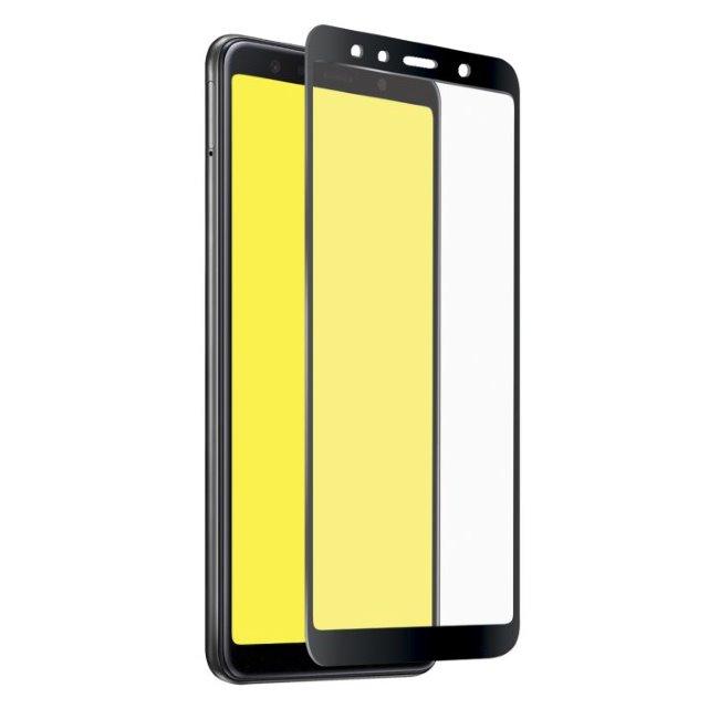 Tvrdené sklo SBS Full Cover pre Samsung Galaxy A7 2018 - A750F, black