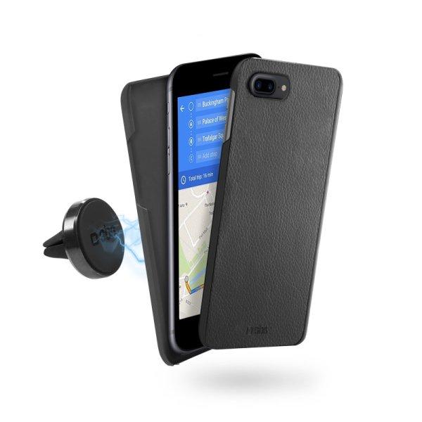 SBS magnetické puzdro s magnetickým držiakom do auta pre iPhone 8/7 Plus TECOVERMAGHOLDIP7PK