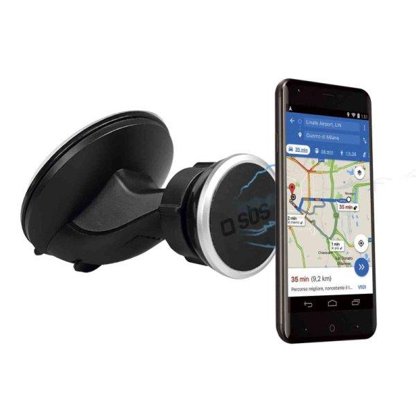 SBS magnetický držiak do auta (s prísavkou) pre smartfón