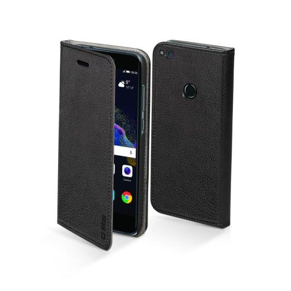 SBS - Puzdro Book Card pre Huawei P8 Lite 2017/P9 Lite 2017/Honor 8 Lite, čierna TEBOOKHUP8L17K