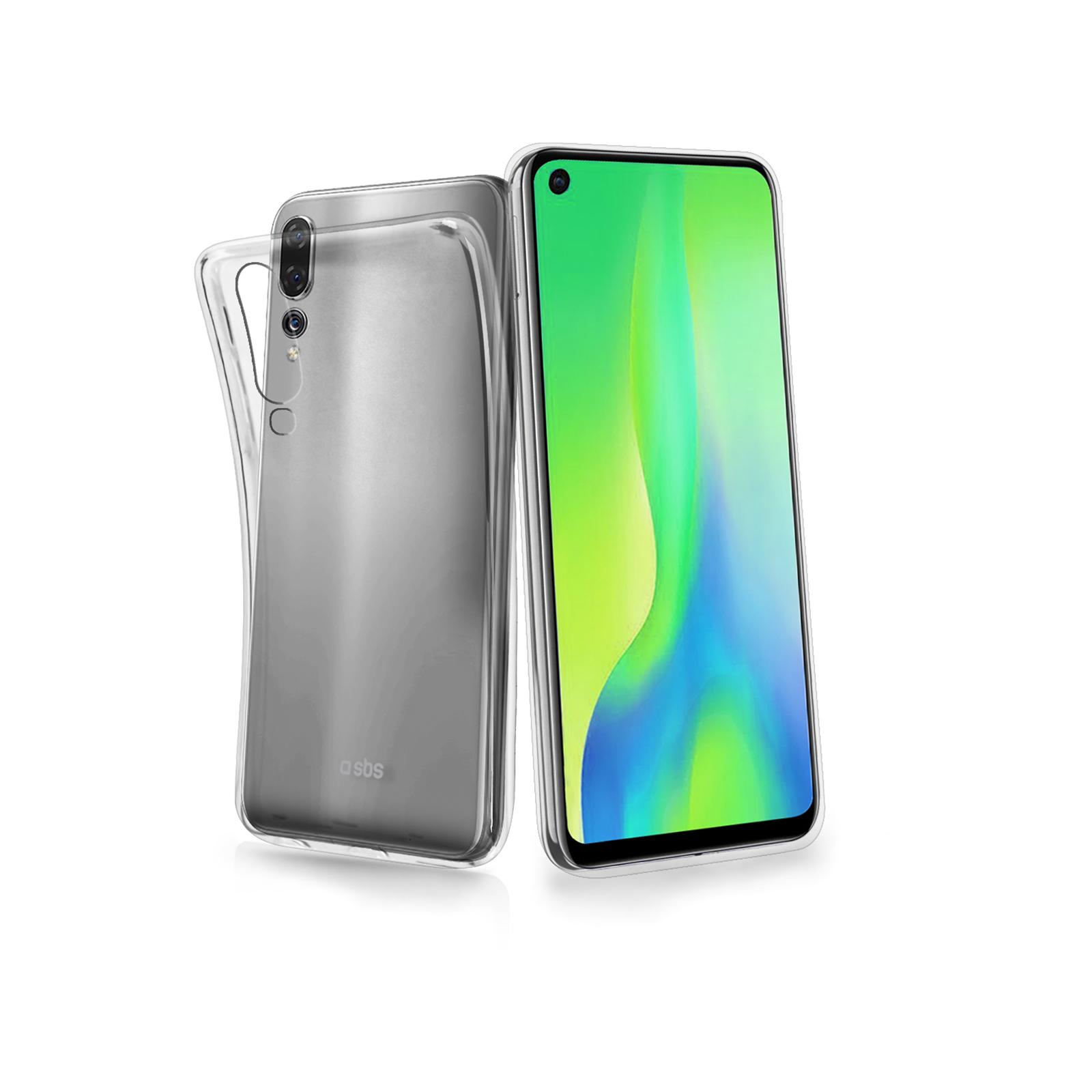 Puzdro SBS Skinny pre Huawei P30, transparentná