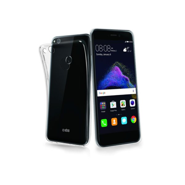 Puzdro SBS Skinny pre Huawei P8 Lite 2017/P9 Lite 2017/Honor 8 Lite, transparentná TESKINHUP8L17T