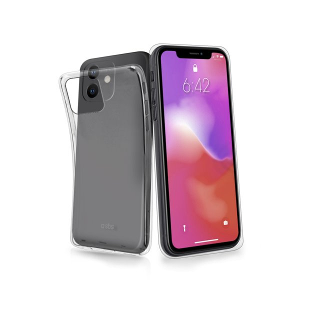 SBS Skinny Cover for iPhone 11, transparent