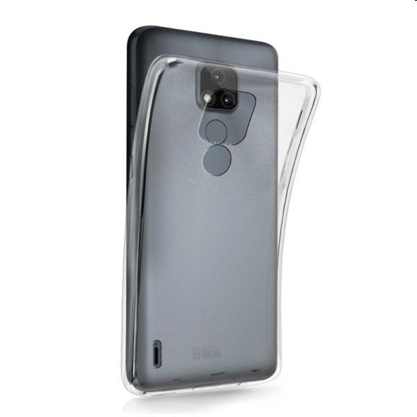 SBS puzdro Skinny pre Motorola Moto E7, transparentné TESKINMOE7T
