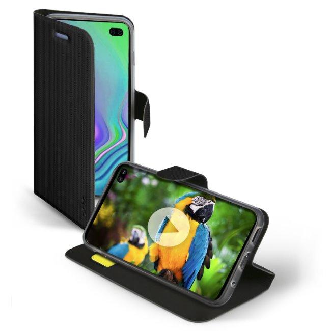 SBS Book Sense Case for Samsung Galaxy S10 Plus - G975F, black