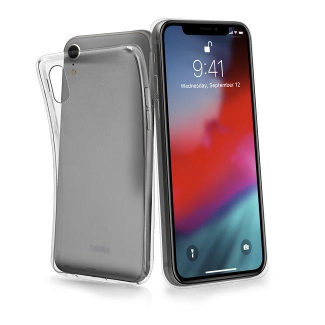 Puzdro SBS Skinny pre Apple iPhone XR, transparentná