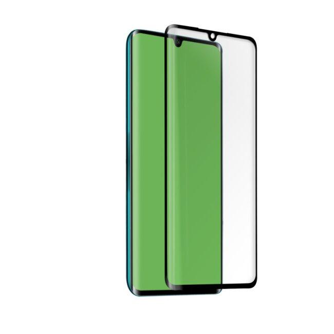 SBS tvrdené sklo 4D Full Glass pre Xiaomi Mi Note 10/Mi Note 10 Pro, black