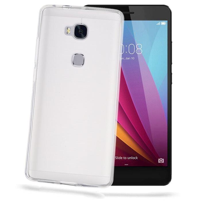 Silikonové puzdro Celly Premium GelSkin pre Huawei Honor 5X, Transparent