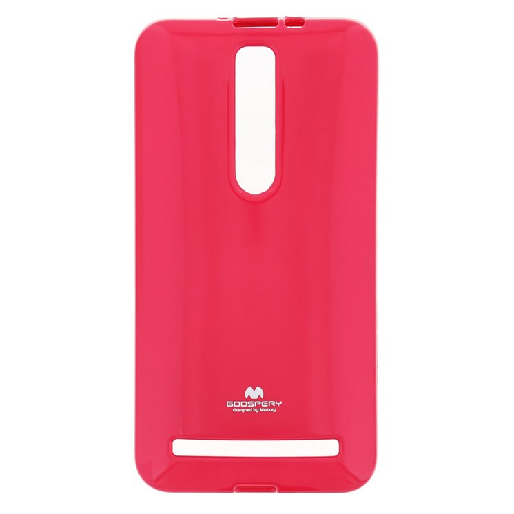 Silik�nov� puzdro Jelly Mercury pre Asus Zenfone 2 - ZE551ML, Hot Pink