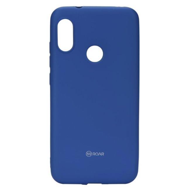 Silikónové puzdro Jelly Roar pre Xiaomi Mi A2, Blue 5901737919380