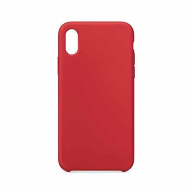 Silikónové púzdro Swissten Liquid pre Apple iPhone 7/8 Plus, červené
