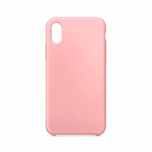 Silikónové púzdro Swissten Liquid pre Samsung Galaxy A7 2018 - A750F, ružové