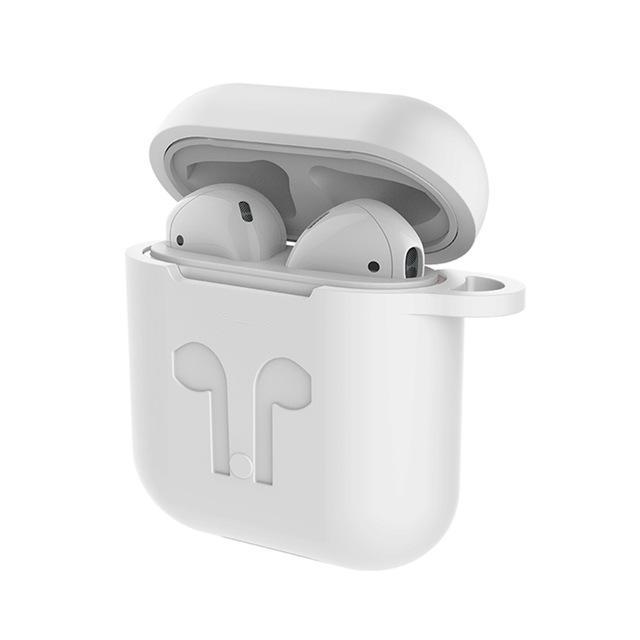 Silikónový obal + šnúrka na slúchadlá pre Apple AirPods MMEF2ZM/A