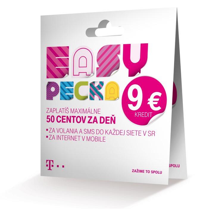 SIM karta EASY PECKA 9€