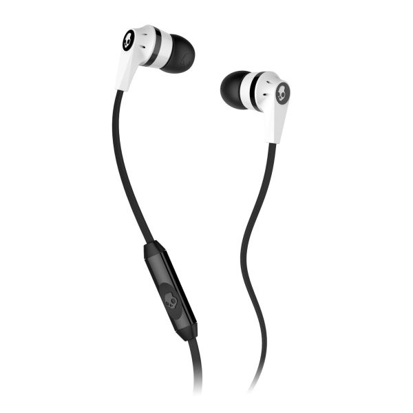 Skullcandy Ink�d 2 with Microphone, white/black