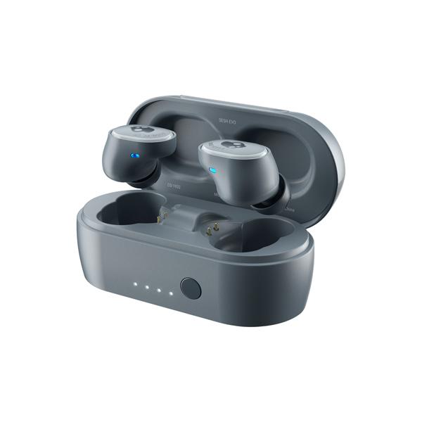 Skullcandy Sesh Evo True Wireless Earbuds, šedé