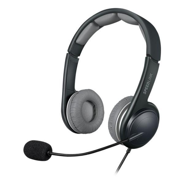 Slúchadlá Speedlink Sonid Stereo Headset USB