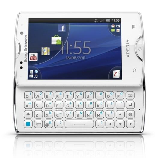 Sony Ericsson XPERIA Mini Pro SK17i - White  Unlocked  SmartphoneXperia Mini White