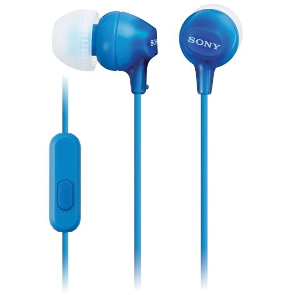 Sony MDR-EX15AP s handsfree, blue
