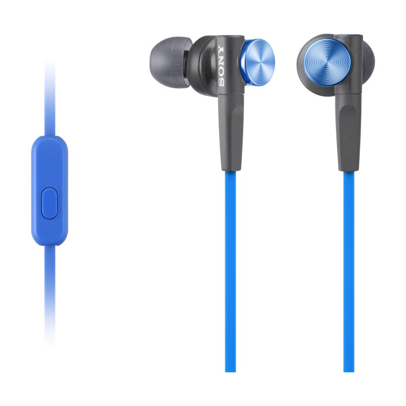 Sony MDR-XB50AP, káblový Stereo Headset, Blue 98967634512