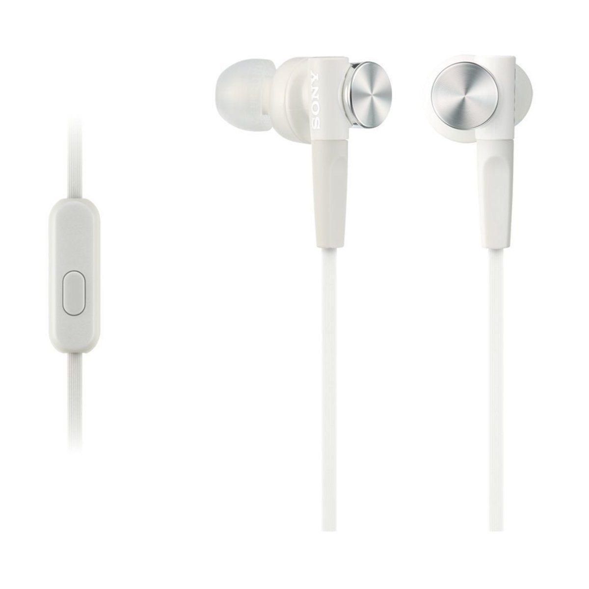 Sony MDR-XB50AP, káblový Stereo Headset, White 98967634513