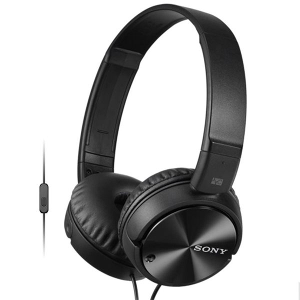 Sony MDR-ZX110NA s handsfree a Noise cancellingom, black