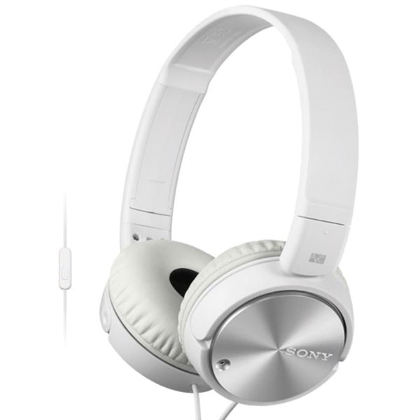 Sony MDR-ZX110NA s handsfree a Noise cancellingom, white