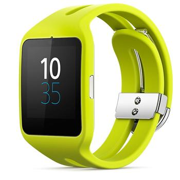 Sony Smartband 3 SWR50, Yellow
