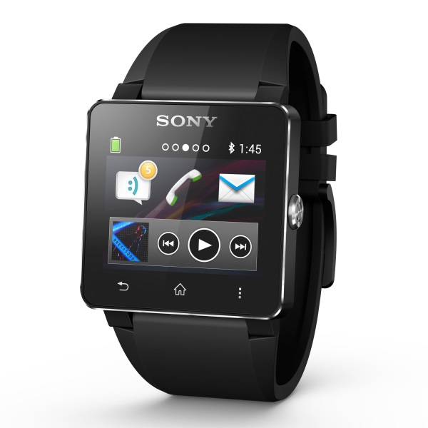Sony SmartWatch 2 - SW2, multifunk�ne hodinky (silik�nov� remienok), Black