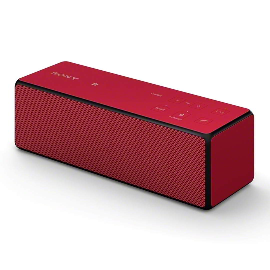 Sony SRS-X33, prenosn� bluetooth/nfc reproduktor 20W, Red