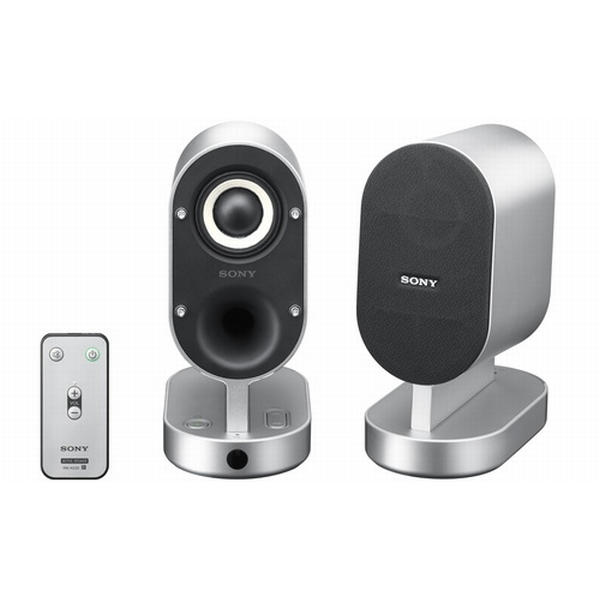 Sony Stereo Speakers with Remote SRS-ZX1