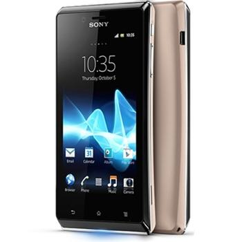 Sony Xperia J - ST26i, Android OS, Gold - SK distrib�cia