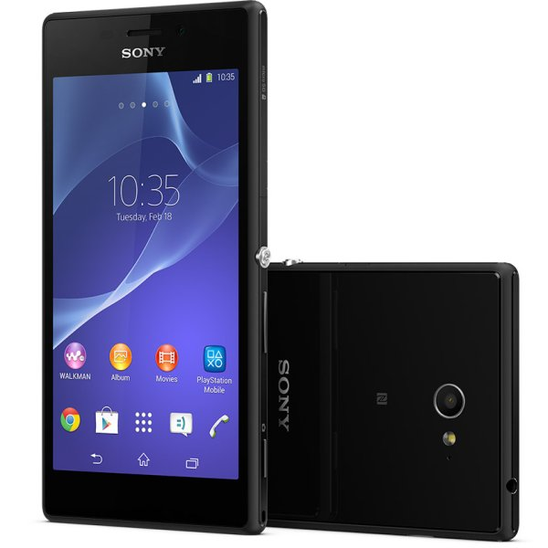 Sony Xperia M2 - D2303, 8GB, Black - SK distrib�cia