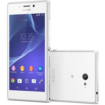 Sony Xperia M2 - D2303, 8GB, White