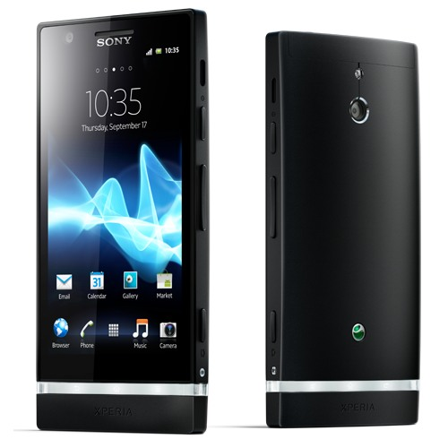 Sony Xperia P - LT22, Android OS, Black