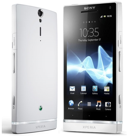 Sony Xperia S - LT26, Android OS, White