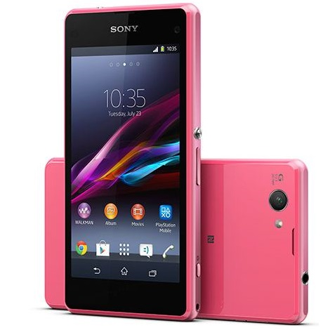 Sony Xperia Z1 Compact - D5503, 16 GB, Pink - SK distrib�cia