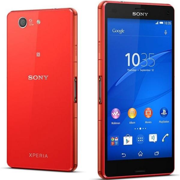 Sony Xperia Z3 Compact - D5803, Orange - SK distrib�cia