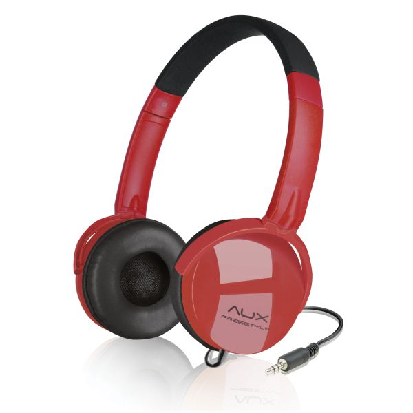 Speed-Link Aux Freestyle Stereo Headset, black-red