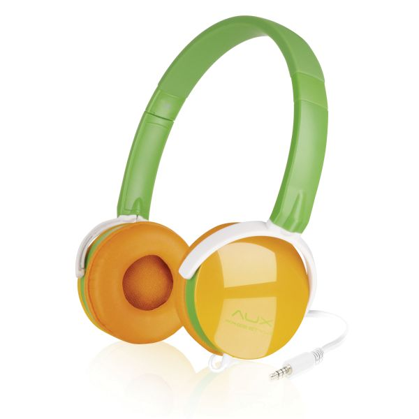 Speed-Link Aux Freestyle Stereo Headset, green-orange