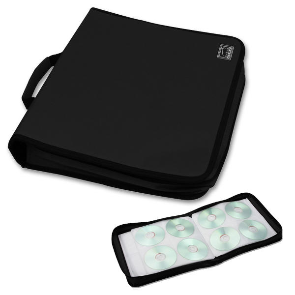 Speed-Link CD-Booklet 200pcs, black