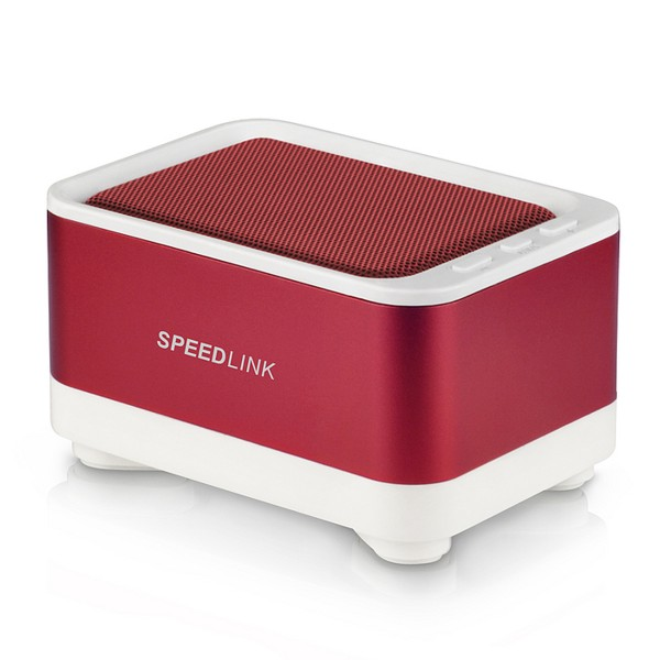 Speed-Link Geovis Portable Speaker Bluetooth, white-red