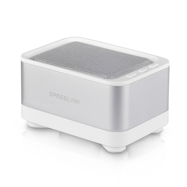 Speed-Link Geovis Portable Speaker Bluetooth, white-silver