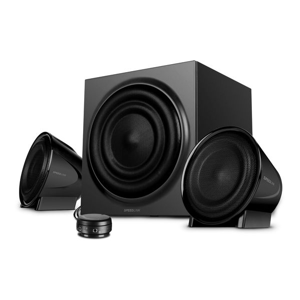 Speed-Link Jugger 2.1 Subwoofer System, black-black
