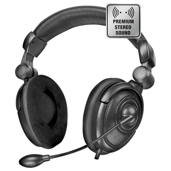 Speed-Link Medusa NX Stereo Headset, black