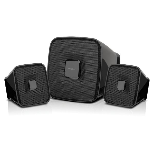 Speed-Link Quaint 2.1 Subwoofer System, black
