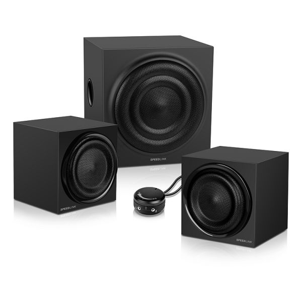 Speed-Link Quanum 2.1 Subwoofer System, black