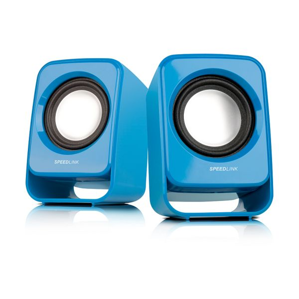 Speed-Link Snappy Stereo Speakers, blue